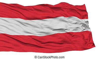 Isolated Austria Flag