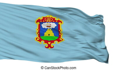 Isolated Ayacucho city flag, Peru - Ayacucho flag, city of...