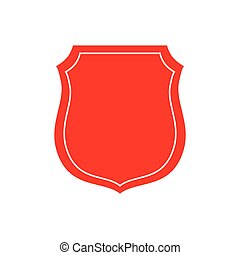 Isolated badge symbol