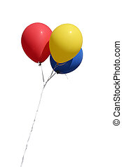 isolated balloons