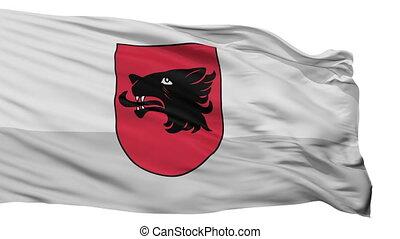 Isolated Balvi city flag, Latvia - Balvi flag, city of...
