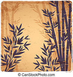Isolated Bamboo illustration