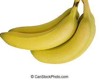 Isolated Banana on white background