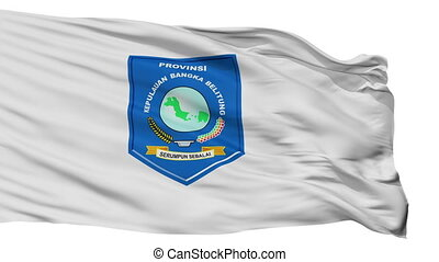 Isolated Bangka Belitung city flag, Indonesia - Bangka ...