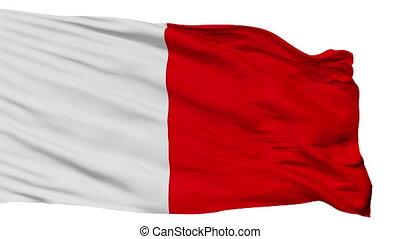 Isolated Bari city flag, Italy - Bari flag, city of Italy,...