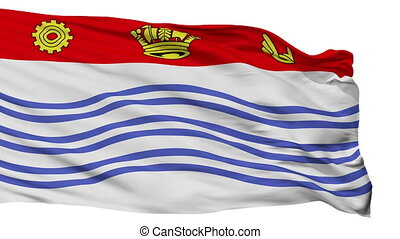 Isolated Barrie city flag, Canada - Barrie flag, city of...