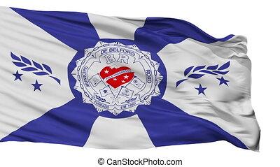 Isolated Belford Roxo city flag, Brasil - Belford Roxo flag,...