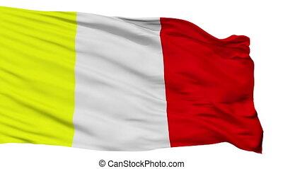 Isolated Benevento city flag, Italy - Benevento flag, city...
