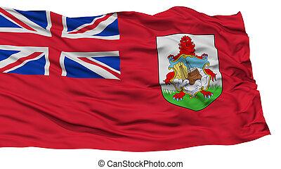 Isolated Bermuda Flag