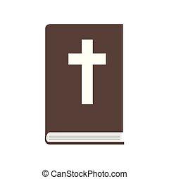 Isolated bible icon