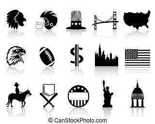 American symbol icons