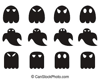 ghost icons set