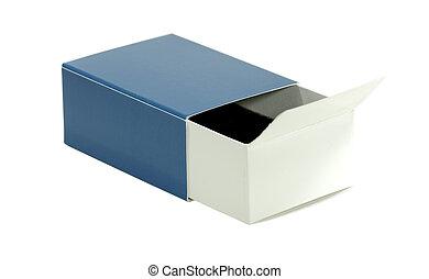 Isolated Blue Box