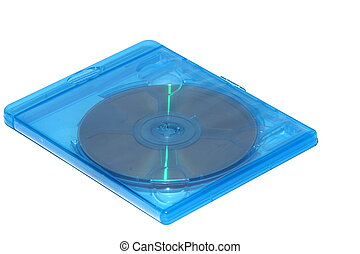 Blue DVD or Blu Ray Case