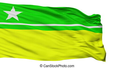 Isolated Boa Vista city flag, Brasil - Boa Vista flag, city...