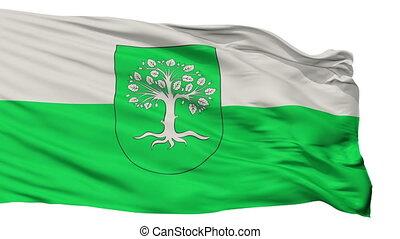 Isolated Bocholt city flag, Germany - Bocholt flag, city of...