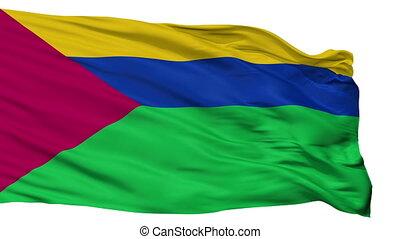 Isolated Bolivar city flag, Venezuela - Bolivar flag, city...