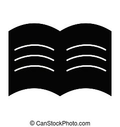 Isolated book icon