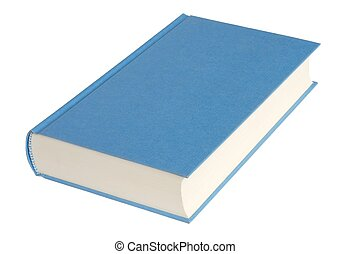 Isolated Book - Isolated book ready to write a title,...
