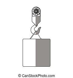 Isolated box and crane design