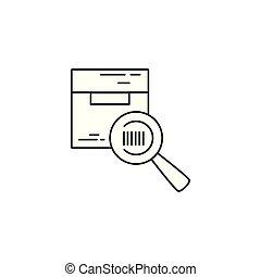 Isolated box icon vector design
