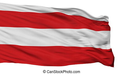 Isolated Brno city flag, Czech Republic - Brno flag, city of...