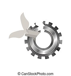 Isolated broken gear design