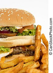 Isolated burger cropped