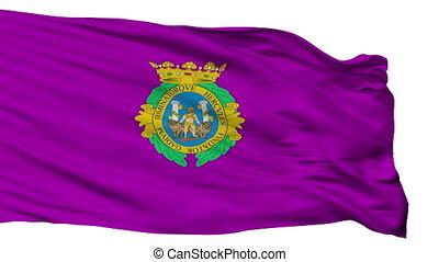 Isolated Cadiz city flag, Spain - Cadiz flag, city of Spain,...