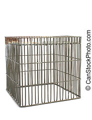 isolated cage