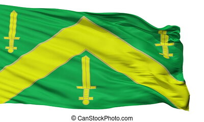 Isolated Campina Grande city flag, Brasil - Campina Grande...