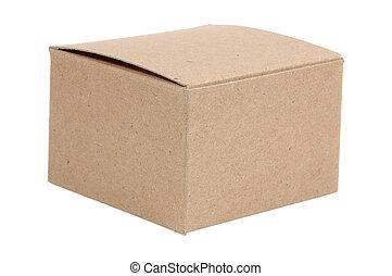 Cardboard Box - Isolated Cardboard Box