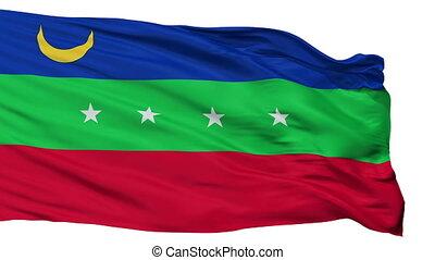 Isolated Cardenas city flag, Venezuela - Cardenas flag, city...