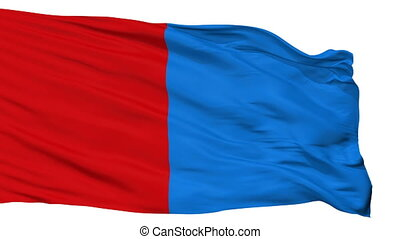 Isolated Catania city flag, Italy - Catania flag, city of...