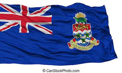 Isolated Cayman Islands Flag