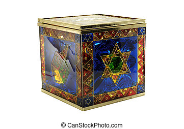 Chanukah Candy Box