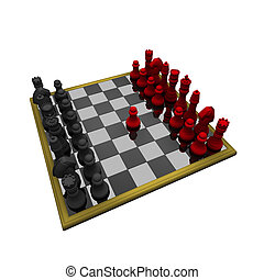 Isolated chess
