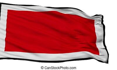 Isolated Chieti city flag, Italy - Chieti flag, city of...