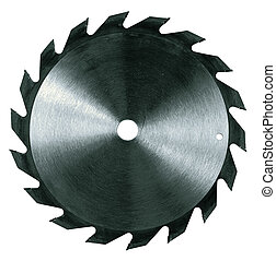 Isolated Circular Saw Blade - Circular saw blade isolated...