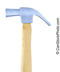 isolated claw hammer