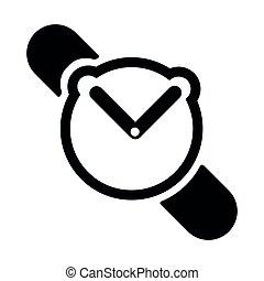 Isolated clock icon