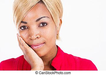 beautiful African woman