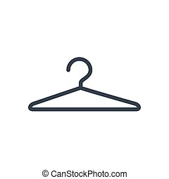 Isolated cloth hanger icon vector design - Hanger icon ...