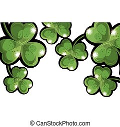 Isolated clover leaf design