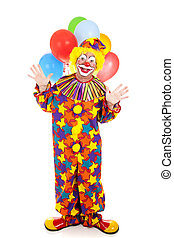 Isolated Clown