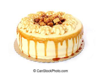 Cake - Isolated Coffee Crunch Cake