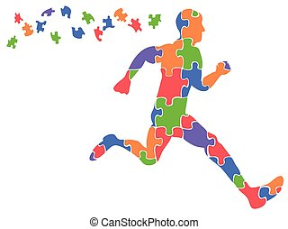 color runner jigsaw puzzles