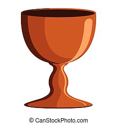 Isolated communion chalice