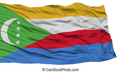 Isolated Comoros Flag