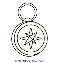 Isolated compass design
